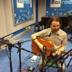 Verner live - Radio1 Rai - Music Club con John Vignola - Maggio 2015